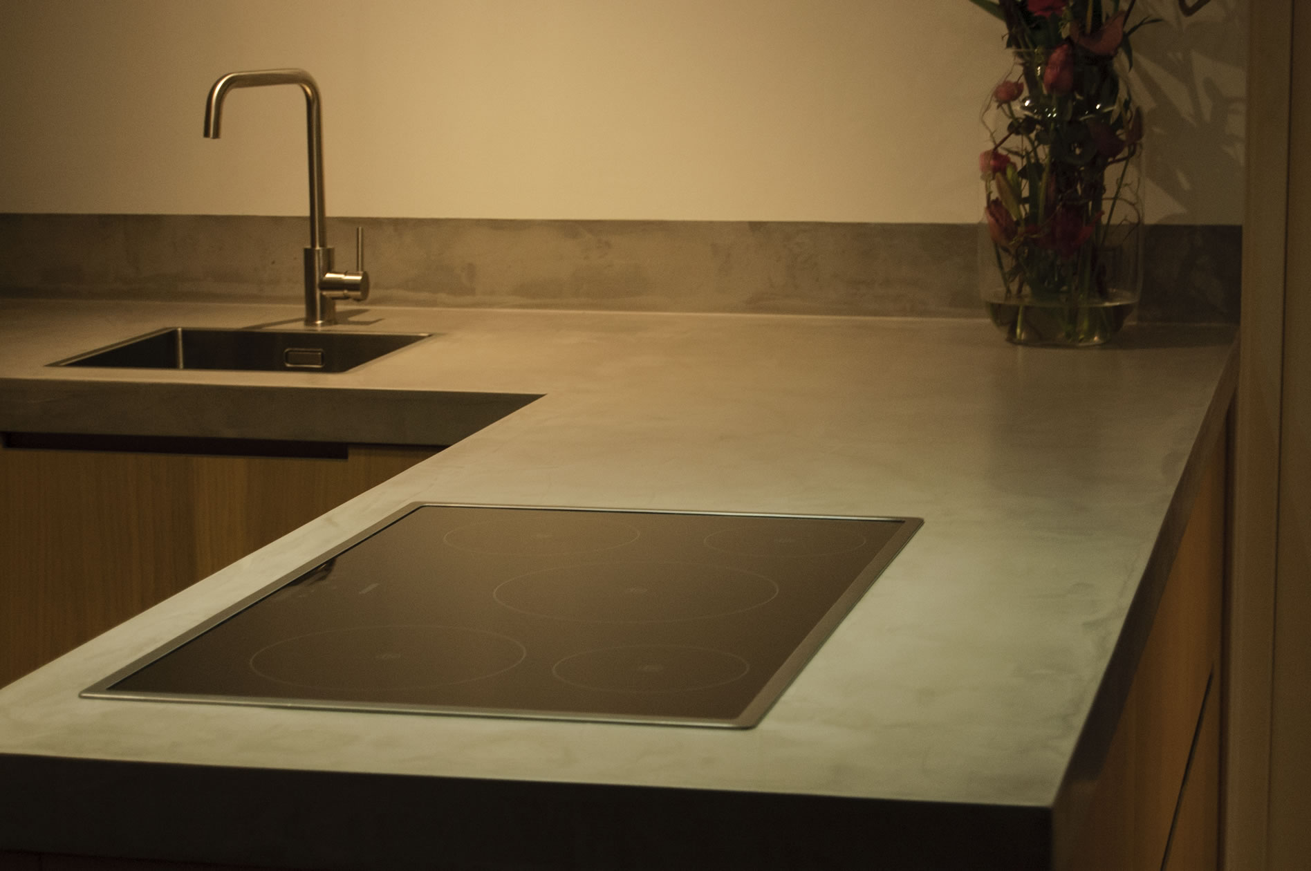 pvblik betonlook idee keuken
