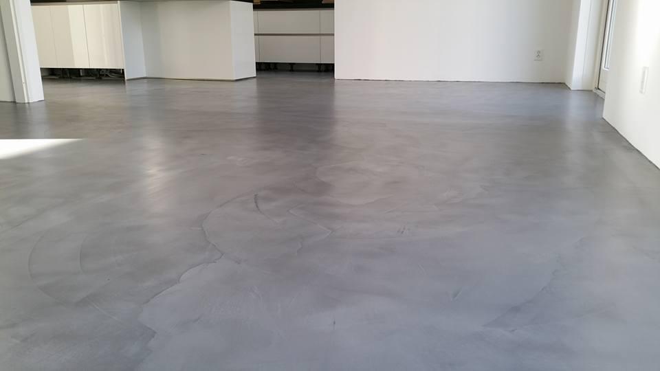 Betoon Look Vloer : Betonlook vloeren stucadoorsbedrijf smeijsters